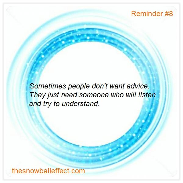 Reminder #8
