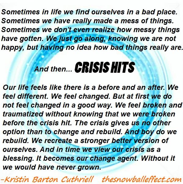 crisis hits