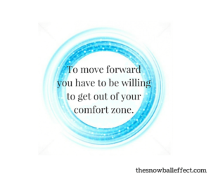To move forward...
